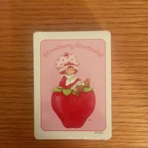 🌹Final Price 🌹 Strawberry Shortcake Deck Cards
